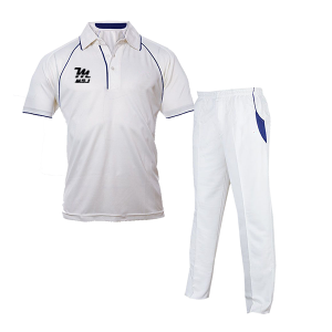 Cricket white uniform