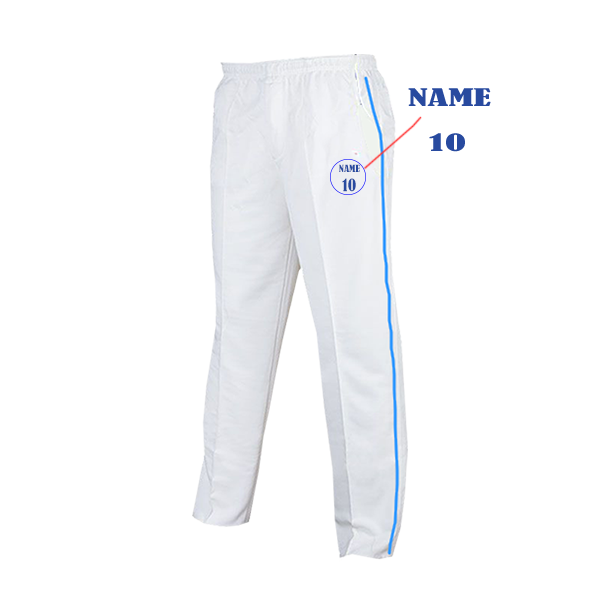 White Cricket Pants