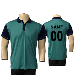 Turquoise Cricket Jersey