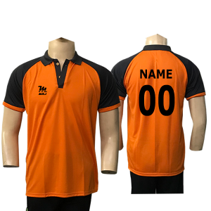 Orange Cricket Jersey