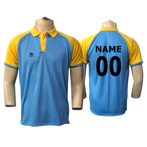 Azure Cricket Jersey
