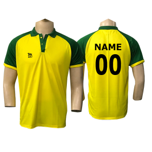 Yellow Cricket Jersey