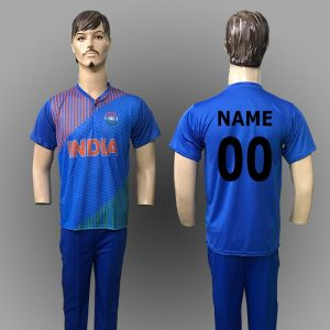 Cricket Blue Jersey