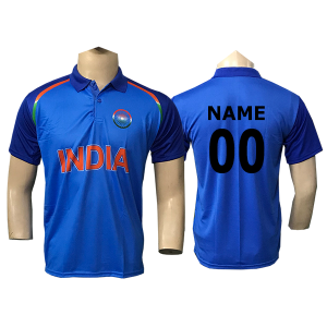 Blue Cricket Jersey