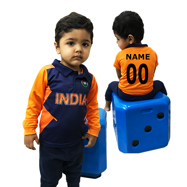Kids India Orange Full