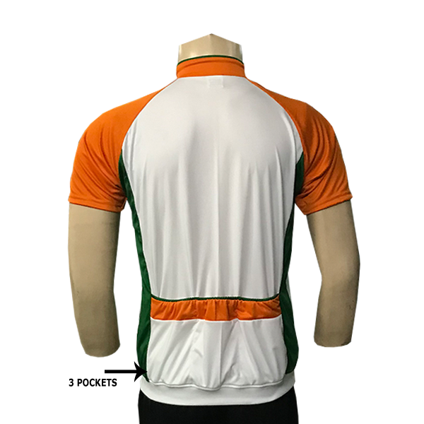 India Cycling Jersey back