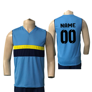 Blue Volleyball Jersey