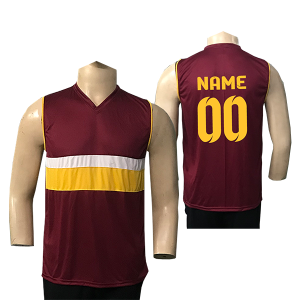 Maroon Volleyball Jersey